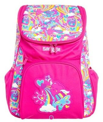 Smiggle Snazzy Access Backpack Rucksack Bag Pink New with tags