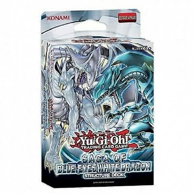Structure Deck Saga of Blue-Eyes White Dragon! Blauäugiger Weißer Drache Englisc