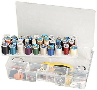 ARTBIN SEW LUTIONS THREAD STORAGE BOX Is Stackable For Spool Sewing Supply