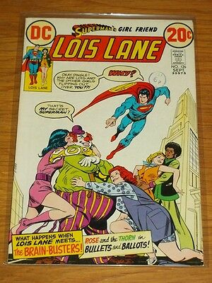 Lois Lane #126 Fn (6.0) Dc Comics Superman's Girlfriend September 1972