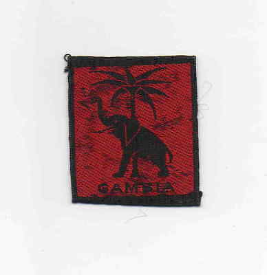 Gambia Boy Scout pre-1965 British Colony Gambia national badge
