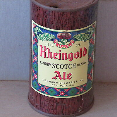 Rheingold Ale    Solid  Colorful  Flat Top