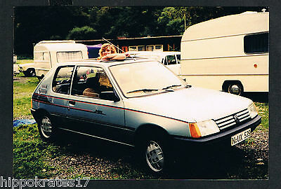 FOTO vintage PHOTO, Campingplatz Frau Auto woman campsite car femme voiture /63