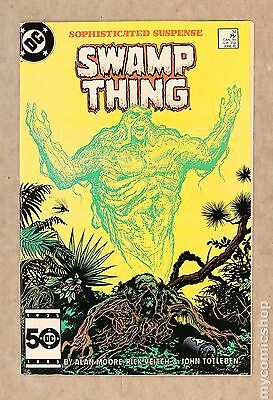 Swamp Thing (1982 2nd Series) #37 VF 8.0