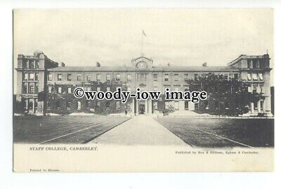 tq1532 - Surrey - The Staff College for British Soldiers, Camberley - Postcard