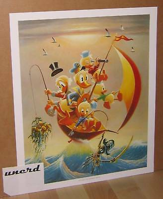 Carl Barks Kunstdruck: Sailing the Spanish Main - Donald Duck, Scrooge Art Print