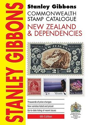STANLEY GIBBONS COMMONWEALTH STAMP CATALOGUE - NEW ZEALAND & DEPENDENCIES 6th Ed