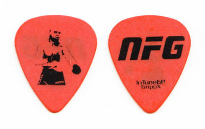 New Found Glory UFC Fighter #4 Guitar Pick - 2010 Tour
