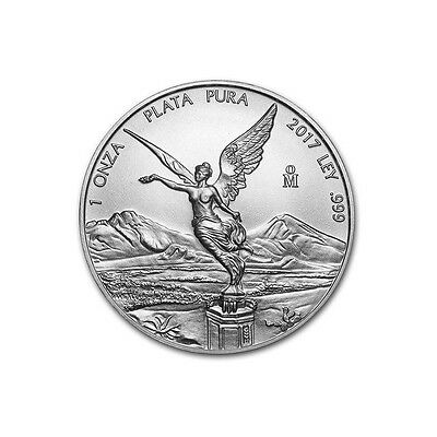 MEXIQUE  Argent 1 Once Libertad 2017 - 1 Oz silver coin