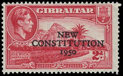 "GIBRALTAR 127 (SG140) - King George VI ""New Constitution"" (pa89232)"