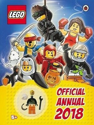 PRE-ORDER: LEGO Official Annual 2018 - 10/08/17
