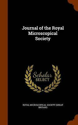 Journal of the Royal Microscopical Society by Hardcover Book (English)