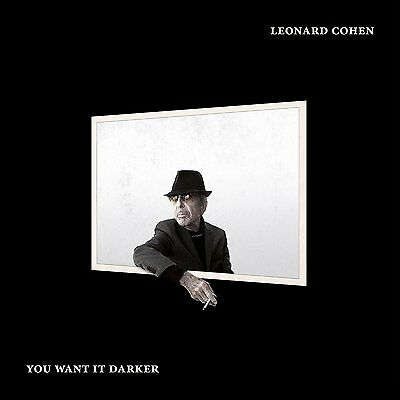 Leonard Cohen You Want It Darker Vinyl Album (2016)
