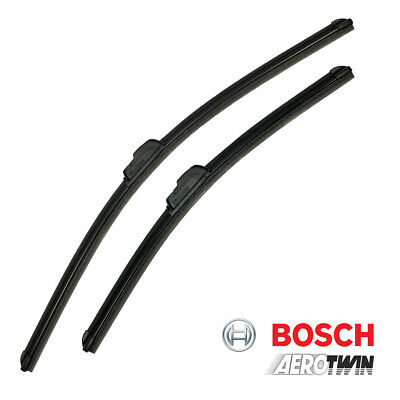 RENAULT MEGANE II NEW BOSCH A182S Aerotwin Front Wiper Blades Set