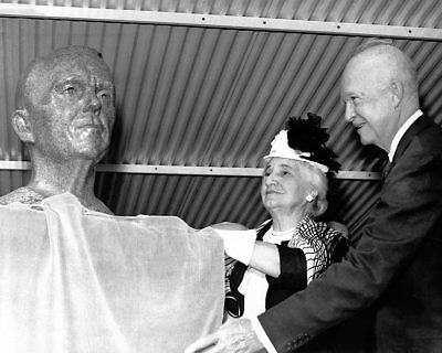 President Eisenhower And General Marshall Bust 11x14 Silver Halide Photo Print