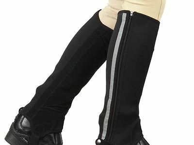 Dublin Neoprene Safety Reflective Half Chaps