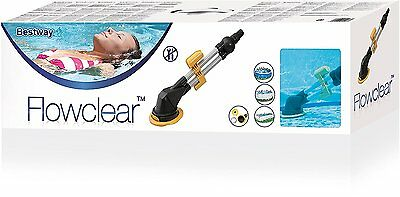 Bestway Flowclear Aqua Climb Automatic Swimming Pool Debris Cleaner For Intex