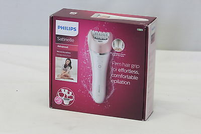 New Philips Satinelle Advanced Wet and Dry Epilator BRE640