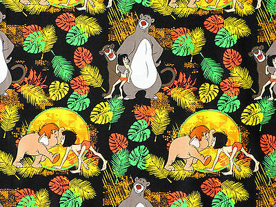 Disney Jungle Book Quilting Fabric by Camelot Fabrics 100/% Cotton 85220102 03
