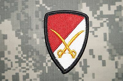 Military Patch US Army 6th Cavalry Brigade Dress Color Sew-on Authentic