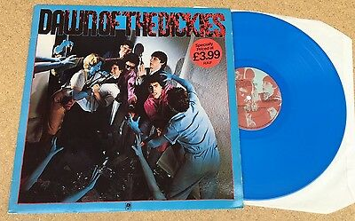 THE DICKIES Dawn Of The Dickies 1979 UK BLUE Vinyl LP EXCELLENT CONDITION