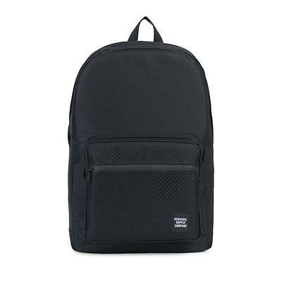 Herschel Supply Co. Pop Quiz Aspect Perforated Backpack Pack Black/Black New