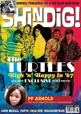 Shindig Magazine Issue 68 - The Turtles, Pp Arnold, John Mayall, Patto...new