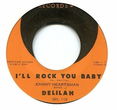 60 ' s  R & B    *  Johnny Heartsman Band  **  I 'll Rock You Baby  **  SHIRLEY