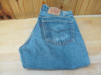 Vintage Levi Strauss Denim Jeans 501 or 501XX? 32x34 GUC Button Fly