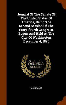 Journal of the Senate of the United States of America, Being the Second Session