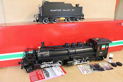 LGB 22892 DIGITAL SOUND G SCALE SUMPTER VALLEY RY 2-6-6-2 MALLET LOCO 250 nk