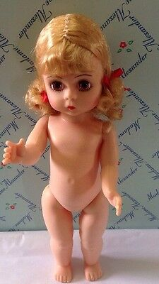 """Adorable 8"""" Madame Alexander Doll Ready To Dress."""