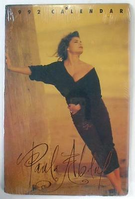 PAULA ABDUL 1992 Photo Calendar 12 Different High Quality Photos Sealed
