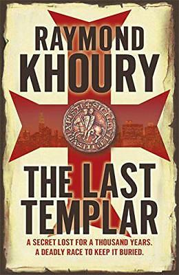 The Last Templar by Raymond Khoury | Paperback Book | 9781409118565 | NEW