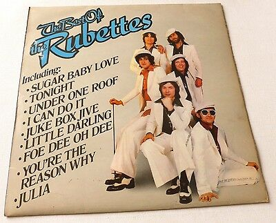 The Rubettes - The best of the Rubettes   UK VINYL LP