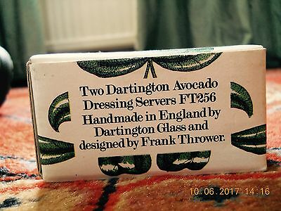 Dartington Avocado Dressing Servers Frank Thrower Retro
