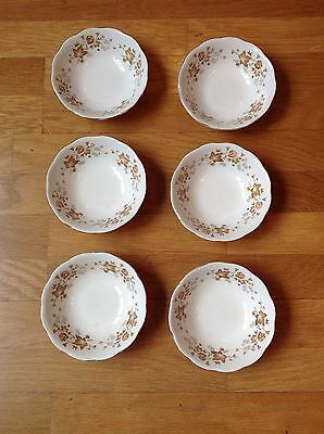 Vintage Colclough - Avon - Bone China Cereal Bowls x 6 - In Good Used Condition