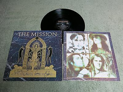 THE MISSION God's own medicine MERCURY LP ~ AUTOGRAPHED ~ MERH 102!