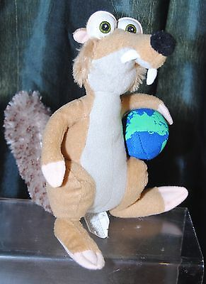Ice Age / Play By Play Small 8 Inch Scratt Soft Toy