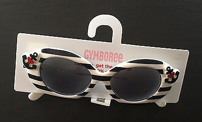 NWT Gymboree Bon Voyage 2-4 Years Girls Navy Nautical Stripe Anchor Sunglasses