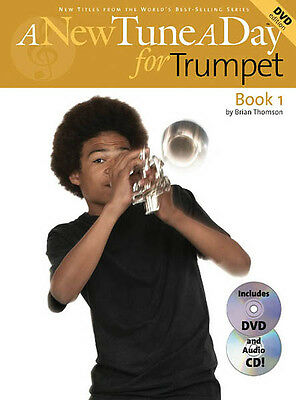 A New Tune A Day Trumpet Book 1 Beginner Lessons Learn How to Play CD DVD NEW