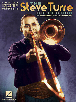 Steve Turre Collection Trombone Solo 14 Transcriptions Jazz Sheet Music Book NEW