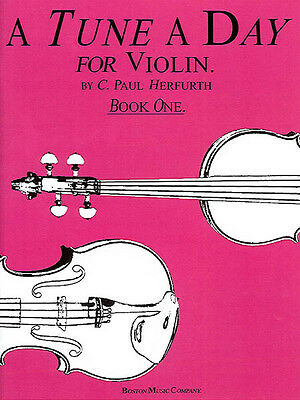 A Tune a Day Violin Book 1 for Beginner Learn How to Play Music Lessons NEW