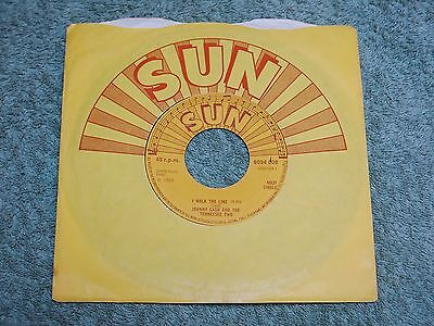 JOHNNY CASH & THE TENNESSEE TWO I walk the line SUN 7-inch Maxi-single 6094 008!