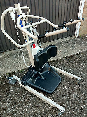 Invacare Reliant 350 electric stand assist lifter aid patient standing hoist