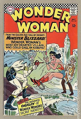 Wonder Woman (1942-1986 1st Series DC) #162 VG- 3.5