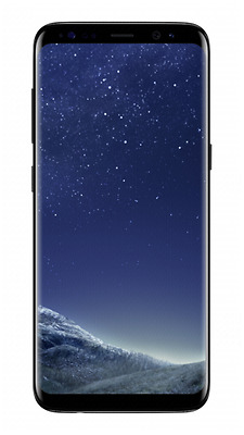 Samsung Galaxy S8 midnight black NEU