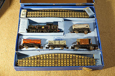 "Hornby Dublo ""oo"" Gauge Train Set Vintage Tin Boxed"