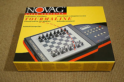 Novag Tourmaline Chess Computer Complete Boxed 9407