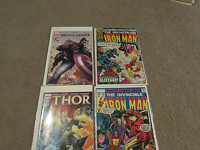 Lot of 4 Marvel / AAFES Comic Books - Thor, Iron Man and Captain America • $4.00